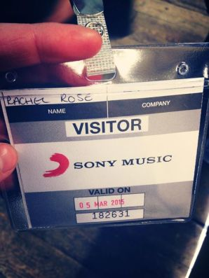 sony badge RR